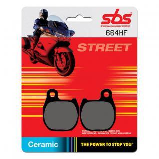 Bremsbelag SBS 664HF Street Ceramic