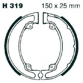 Premium Bremsbacken Water Grooved H319G für Honda