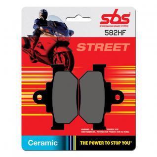 Bremsbelag SBS 582HF Street Ceramic