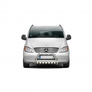 Frontschutzbügel mit Unterfahrschutz für Mercedes-Benz Vito Baujahr 2003 - 2010