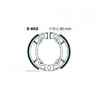 Premium Bremsbacken Maße: 110 x 30 Kawasaki AE50 AE80 Suzuki AP50 DRZ 110 GT 80 RV 125 RV 90 TS 50 TS 125