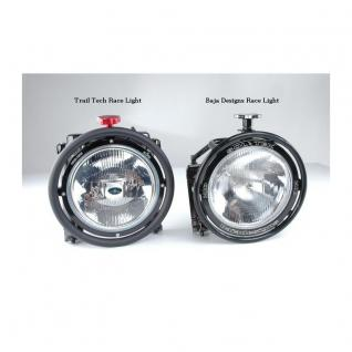 Race Light 8 Halogen Race Light. 55 Watt Draw. Approximately 1700 lumens