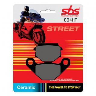Bremsbelag SBS 684HF Street Ceramic