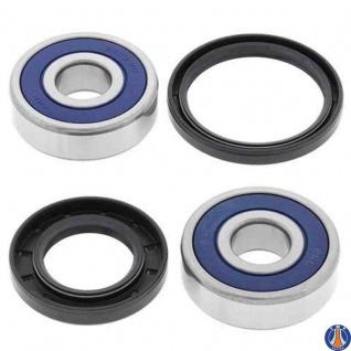 Wheel Bearing Kit Front Yamaha RD400 76-78, SR400 15-17, SR500 78-85, TDM850 (Euro) 94-01, TDM850 92-93, TX500 73-75, TX750 73-74, VMX12 V-Max 85-07, XJ1100 82, XS1100 78-81, XS500 76-78, XS650 75-83, XS750 77-79, XS850 G 80, XS850 H 81, XS850 LG 80, XS85
