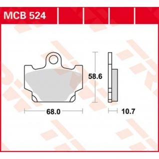 MCB524 Bremsbelag Yamaha