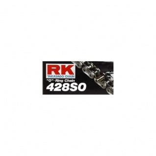 RK Kette 428SO 124 Glieder schwarz schwarz O-Ring