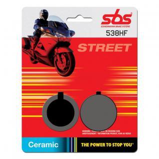 Bremsbelag SBS 538HF Street Ceramic