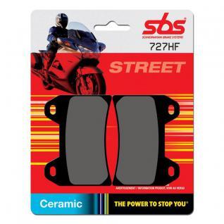 Bremsbelag SBS 727HF Street Ceramic