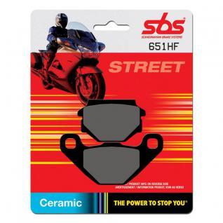 Bremsbelag SBS 651HF Street Ceramic