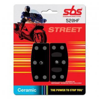 Bremsbelag SBS 520HF Street Ceramic