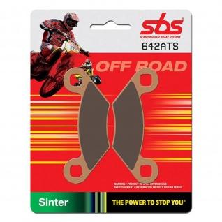 Bremsbelag SBS 642ATS ATV Sintermetall Polaris Outlaw Ranger Scrambler Sportsman Trail Boss Trail Blazer Xpedition