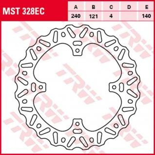 MST328EC Bremsscheibe starr Honda CR CRF 125 250 450 02-14