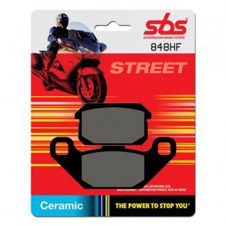 Bremsbelag SBS 848HF Street Ceramic