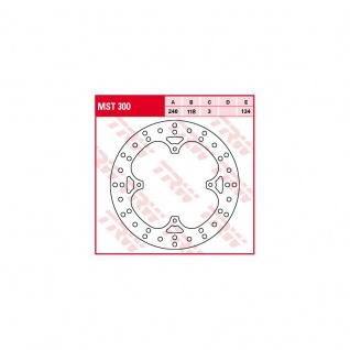 MST300 Bremsscheibe starr Honda 50 80 MTX 125 CR XL 250 XL XR 350 XR 400 XR 500 CR XR 600 XL XR