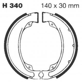 Premium Bremsbacken Water Grooved H340G für Honda