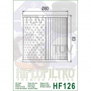HF126 Ölfilter Kawasaki Motorcycle Z750 Z900 KZ 1000 Z 1000 KZ 1300 ZN 1300 16099-002