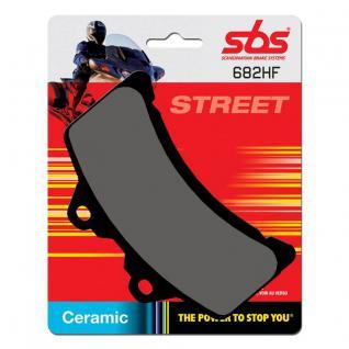 Bremsbelag SBS 682HF Street Ceramic