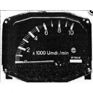 Pitsch Kröber Anzeigedisplay Tacho LZ13 Road Type 0-10000 RPM