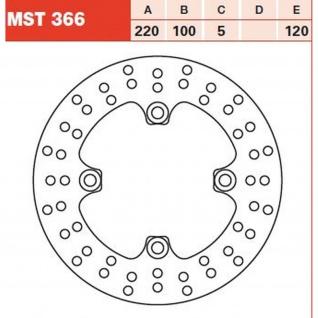MST366 Bremsscheibe starr Ninja ZX