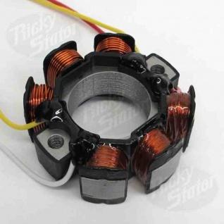 Stator six pole stator Kawasaki KX250F 04- 10, Suzuki RMZ250 05- 09, RMZ450 05- 07