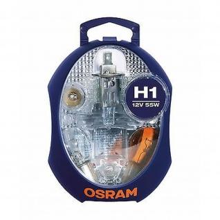 Ersatzlampenbox Osram Original H1 12V Minibox ( 6 Lampen 1 Sicherung )