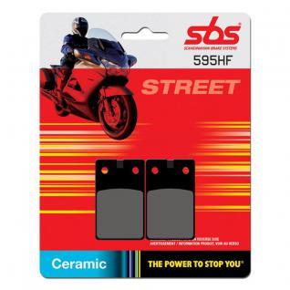 Bremsbelag SBS 595HF Street Ceramic
