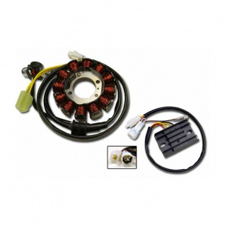 Lichtmaschine Generator Regulator Rectifier G136 + RR136 Yamaha WR250F, WR450F 04- 5UM-81410-00 5UM-81410-09 5UM-81410-10 5UM-81410-31 5UM-81410-20 - Vorschau 1