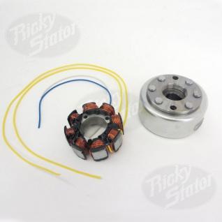 Stator Honda CR250R 8 Pole 100 watt lighting Stator & flywheel 99- 01