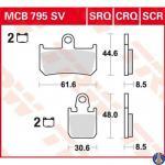 MCB795CRQ Bremsbelag Yamaha YZF 1000 R1 1700 MT-01 1700 XV-Y V-Max vorne