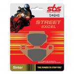 Bremsbelag SBS 546HS Streetexcel Sintermetall