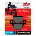 Bremsbelag SBS 585HF Street Ceramic Derbi Mulhacen Senda 08 - 15