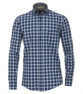 Casa Moda - Casual Fit - Herren Freizeit Hemd mit Button Down-Kragen (482897700A)