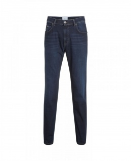Bugatti - Herren 5-Pocket Jeans Stone Washed / Rinse Blue Regular Fit (Art. Nr.: 3280D-16640)