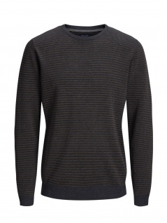 Jack & Jones - Herren Strickpullover, JPRBOSTON KNIT CREW NECK (Art.12144049)