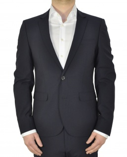 White Bros. - Slim Fit Sakko in Schwarz oder Dunkelblau (Art.: 8851624)