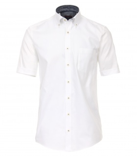 Casa Moda - Comfort Fit - Herren Oxford Hemd 1/2 Arm uninah mit Button Down-Kragen (982949600A)