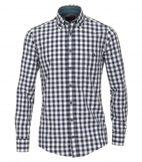 Casa Moda - Casual Fit - Herren Freizeit Hemd mit Button Down-Kragen (482896600A)