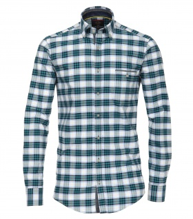 Casa Moda - Casual Fit - Herren Freizeit Hemd mit Button Down-Kragen (482897900A)
