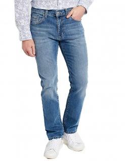 Pioneer - 5-Pocket Herren Jeans in der Farbe stone used with buffies, Regular Fit, RANDO (1674 9763 349)