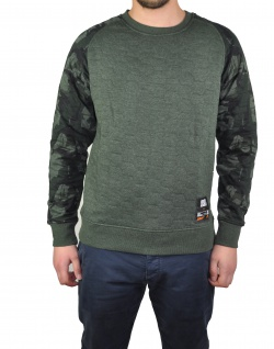 Jack & Jones - Herren Sweatshirt, JCOJAQUE SWEAT CREW NECK (Art. 12143120)