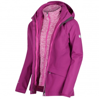 Regatta - Damen 3-in-1 Funktionsjacke, Wasserdicht und Atmungsaktiv, Calyn II (RWP270)