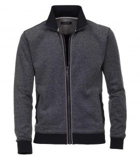 Casa Moda - Herren Sweat-Jacke unifarben in blau (483004600)