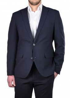 Travel Fit - Freenamik Herren Sakko in Blau, Anthrazit oder Schwarz, Rayn B (1624 00, Modell: 222002)