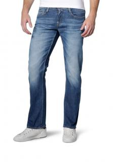 Mustang - Slim Fit - Herren 5-Pocket Jeans, Low rise, Farbe light streched used und dark rinsed used - Oregon Straight (3115-5111)