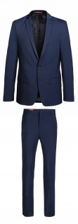 Konfirmation - Thomas Goodwin - Slim Fit - Herren Mix&Match Anzug in blau, TOM/TOBY (44021)
