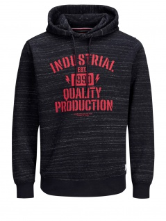 Jack & Jones - Herren Hoody in verschiedenen Farben, JCOJASO SWEAT HOOD CAMP PS (Art. 12146606)