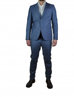 Herren Baukasten - Anzug in blau , Stil: Regular Fit, (Art. Luca C / Elio 123003-133001)