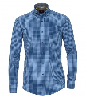 Casa Moda - Casual Fit - Herren Freizeit Hemd mit Button Down-Kragen (482897200A)