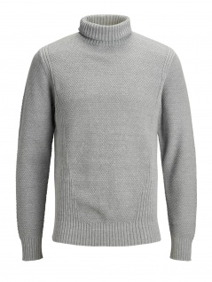 Jack & Jones - Herren Rollkragen Pullover, JPRBENDIX KNIT ROLL NECK (Art. 12145040)