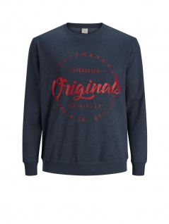 Jack & Jones - Herren Sweatshirt, Plus Size, Große Größen, JORHANGO SWEAT CREW NECK PS (Art. 12144836)